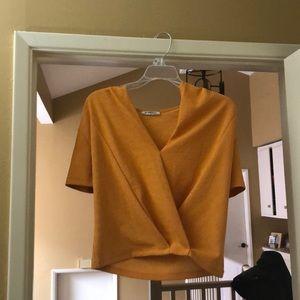 Orange top- Zara
